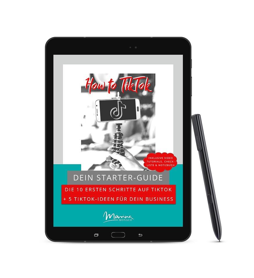 TikTok Starter-Guide auf Amazon